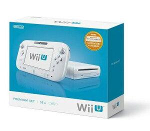 【新品】【ゲーム】HD/WiiU機/WiiUプレミアムセット(シロ)
