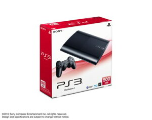 【中古】【ゲーム】HD/PS3機/本体(500GB)チャコール・ブラック4000