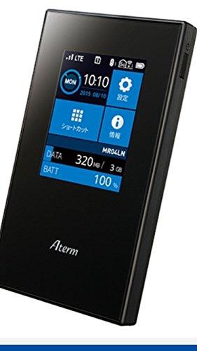 【新品】NECSIMロックフリーLTEモバイルルーターAtermMR04LN【クレードル付属】(デュアルSIM対応/microSIM)MR04LN