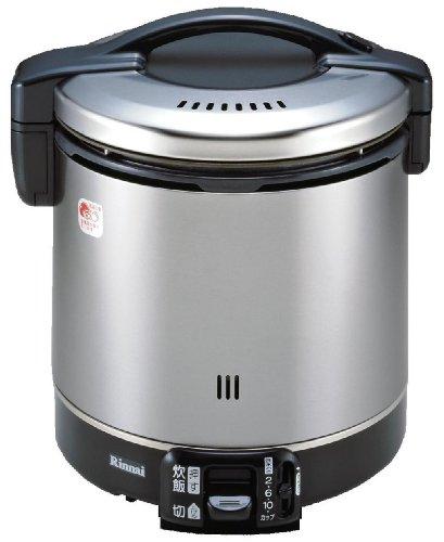 【新品】リンナイガス炊飯器(都市ガス12A・13A用)【こがまる】2~11合ブラックRR-100GS-C-13A
