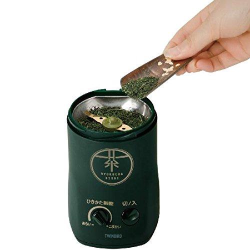 【新品】お茶ひき器緑茶美採