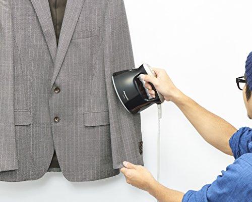 【新品】パナソニック衣類スチーマーブラックNI-FS360-K