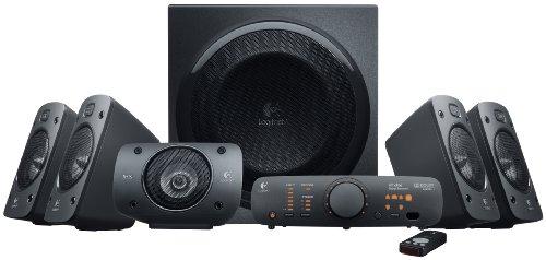 【新品】LogitechZ9065.1chサラウンドサウンドスピーカー並行輸入品