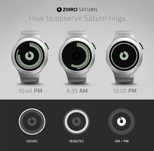 【新品】ジーロ腕時計サターンクロームZ0008WS並行輸入品
