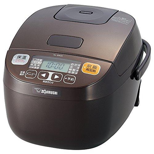 【新品】象印炊飯器マイコン式3合ブラウンNL-BA05-TA