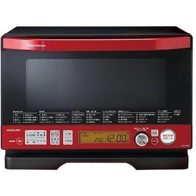 【新品】 コイズミ オーブンレンジ レッド KOR1800-R:ドリエムコーポレーション