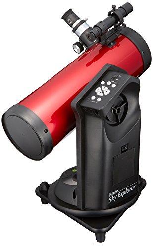 【新品】 Kenko 天体望遠鏡 Sky Explore SE-AT100N RD 反射式 口径100mm 焦点距離450mm 卓上型 自動追尾機能付 SE-AT100N RD:ドリエムコーポレーション
