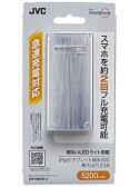 【新品】 JVC KENWOOD JVC モバイルバッテリーチャージャー シルバー ZM-MB520-S