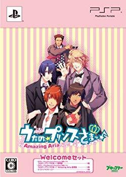 【中古】うたの☆プリンスさまっ♪ -Amasing Aria-(Welcomeセット) - PSP画像