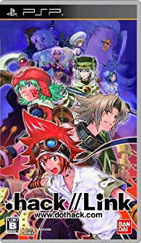 【中古】.hack//Link(通常版:DVD「.hack//historical Disc」同梱) - PSP画像