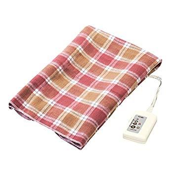 【中古】広電 洗える 電気ひざ掛け毛布 120×62cm CWS-H120
