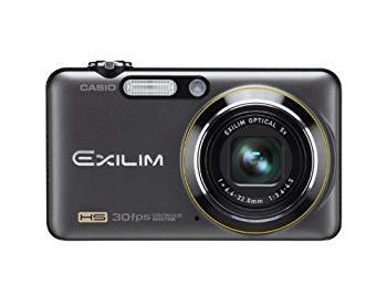 【中古】CASIO デジタルカメラ HI-SPEED EXILIM EX-FC100 ブラック EX-FC100BK