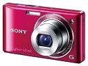 【中古】ソニー SONY デジタルカメラ Cybershot W380 レッド DSC-W380/R