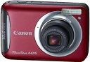 【中古】Canon デジタルカメラ PowerShot A495 レッド PSA495(RE)