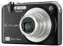 【中古】CASIO デジタルカメラ EXILIM (エクシリム) ZOOM ブラック EX-Z1200BK