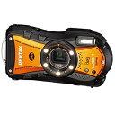 【中古】PENTAX 防水デジタルカメラ Optio WG-1 GPS シャイニーオレンジ 約140 ...