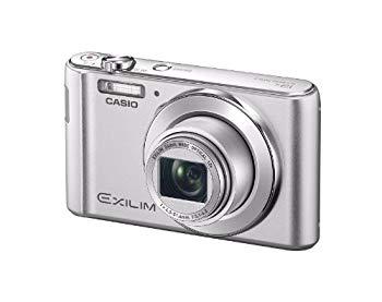 【中古】CASIO デジタルカメラ EXILIM EXZS180SR 1610万画素 光学12倍ズーム 広角24mm EX-ZS180SR シルバー
