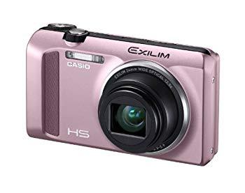 【中古】CASIO EXILIM デジタルカメラ ハイスピード 1610万画素 広角24mm 光学12.5倍ズーム ピンク EX-ZR400PK