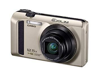 【中古】CASIO カシオ デジタルカメラ EXILIM EX-ZR300GD ゴールド ハイスピード 高速連写