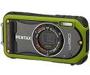 【中古】PENTAX 防水デジタルカメラ Optio W90 ピスタチオグリーン OPTIOW90P ...