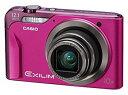 【中古】CASIO デジタルカメラ EXILIM (エクシリム)EX-H10 ピンク EX-H10PK