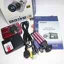 【中古】ソニー SONY デジタルカメラ Cybershot W170 (1010万画素/光学x5/デジタルx10/レッド) DSC-W170 R