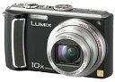 【中古】パナソニック デジタルカメラ LUMIX (ルミックス) ブラック DMC-TZ5-K