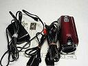 【中古】JVCケンウッド JVC 32GBフルハイビジョンメモリームービー レッド GZ-HM350 ...