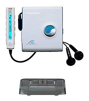【中古】SHARP(シャープ) ポータブルMDプレイヤー シルバー MD-DS30-S