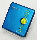 【中古】Panasonic パナソニック SJ-MJ19-A ブルー ポータブルMDプレーヤー MDLP対応 (MD再生専用機/MDウォークマン)