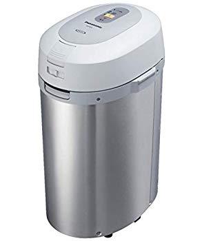 【中古】パナソニック 家庭用生ごみ処理機 温風乾燥式 6L シルバー MS-N53-S