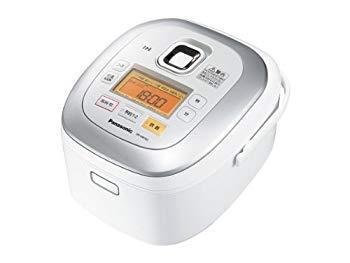 【中古】パナソニック 5.5合 炊飯器 IH式 ホワイト SR-HB102-W