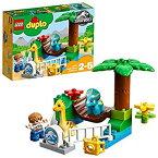 【中古】レゴ(LEGO)デュプロ やさしい恐竜たちのふれあい動物園 10879