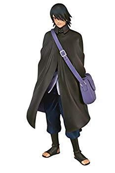 【中古】NARUTO -ナルト- 疾風伝 DXFフィギュア 〜 Shinobi Relations 〜 SP2 うちはサスケ 約16cm 特性台座付き画像