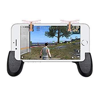 【中古】BT-BASE 荒野行動 PUBG Mobile コントローラー 7代目 革新 左右対称ボタン IOS/Anadroid対応 2個セット