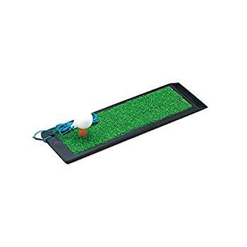 【中古】Tabata(タバタ) ゴルフ ショット用マット ゴルフ練習用マット パンチャー 259 110×380mm ラバースポンジ付 ウッド専用 GV0259