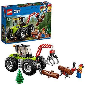 中古 レゴ(LEGO)シティ森のパワフルトラクター60181ブロックおもちゃ男の子車