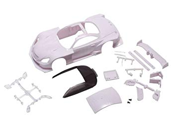 【中古】京商 レクサスSC430 GT500 2012ホワイトボディセット (未塗装) ラジコン用パーツ MZN156