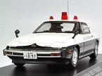 【中古】ヒコセブン RAIS 1/43 MAZDA SAVANNA RX-7 PATROL CAR 秋田県警察交通部交通機動隊車両 完成品