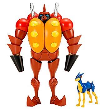 【中古】コトブキヤ 新造人間キャシャーン 「昭和模型少年クラブ」 火炎放射ロボット フレンダー ミニフィギュア付き 全高約120mm ノンスケール プラモデ画像