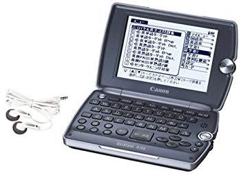 【中古】CANON wordtank (ワードタンク) M300 (36コンテンツ 高校学習モデル MP3 ディクテーション USB辞書)