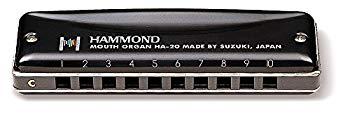 【中古】HAMMOND ハモンド 10穴ハーモニカ HAMMOND HA-20 E♭調