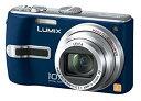 【中古】パナソニック デジタルカメラ LUMIX (ルミックス) DMC-TZ3 ブルー