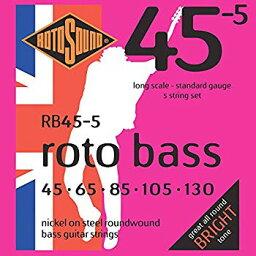【中古】ROTOSOUND/ロトサウンド ROT-RB45/5 [45-130] 5弦用ベース弦