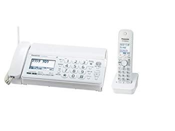 【中古】パナソニック おたっくす デジタルコードレスFAX 子機1台付き 1.9GHz DECT準拠方式 ホワイト KX-PD301DL-W