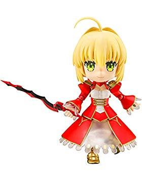 【中古】キューポッシュ Fate/EXTRA Last Encore セイバー NONスケール PVC製 塗装済み可動フィギュア画像