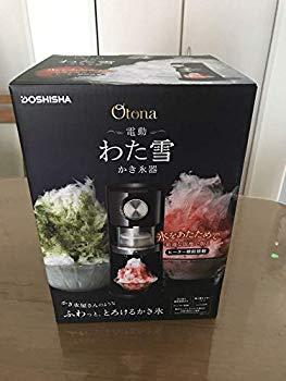 【中古】ドウシシャ 電動わた雪かき氷器DOSHISHA DSHH-18