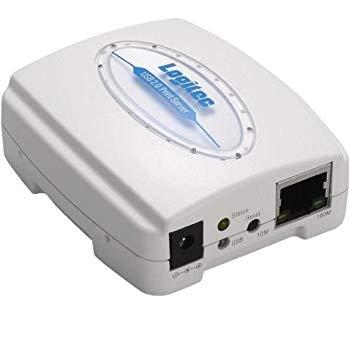 【中古】Logitec プリントサーバ USB2.0接続 LAN-PS/U2A