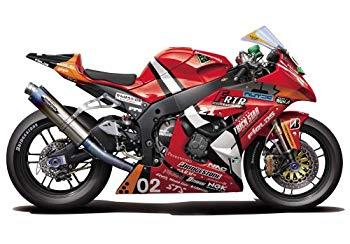 【中古】フジミ模型 1/12 バイクシリーズ SPOT エヴァ RT 弐号機 トリックスター FRTR Kawasaki ZX-10R 2011画像