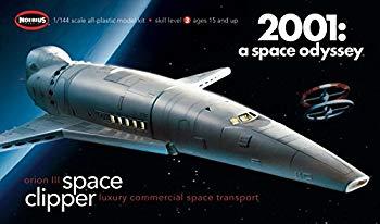 【中古】メビウス 2001年宇宙の旅 1/144 オリオン号 スペースクリッパー画像